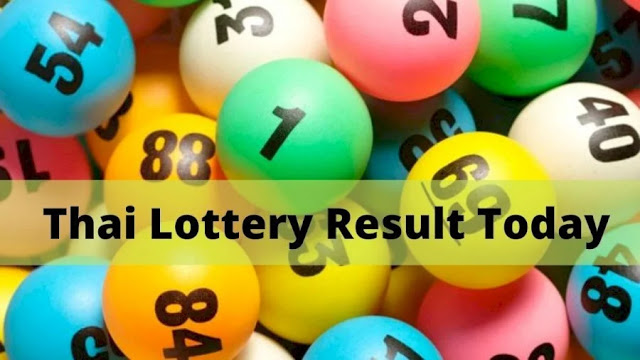 Thai Lottery Result Today Live For 16-07-2021