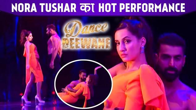 Nora Fatehi and Tushar Kalia Dance Performance