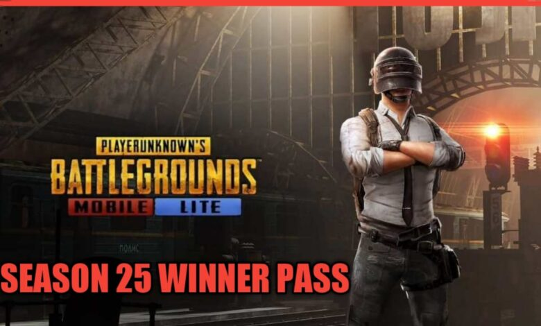 pubg lite season 25 winner pass rewards