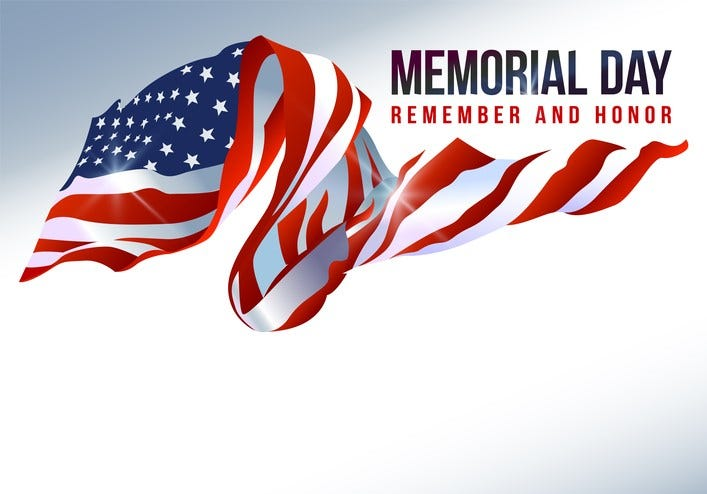 National Memorial Day 2021 Poster