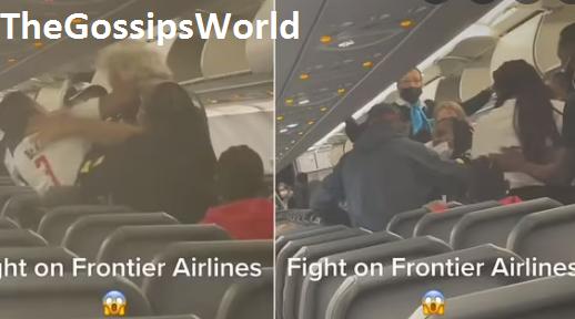 Milli Miami Flight Fight Viral Video