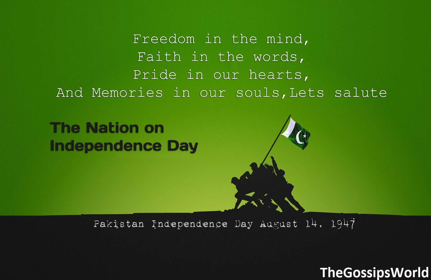 Happy Pakistan Independence Day SMS