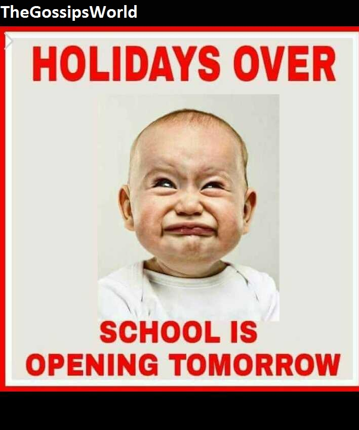 School Reopening Funny Memes